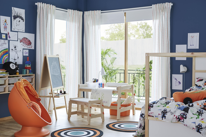 MÅLA Caballete, madera conífera, blanco IKEA