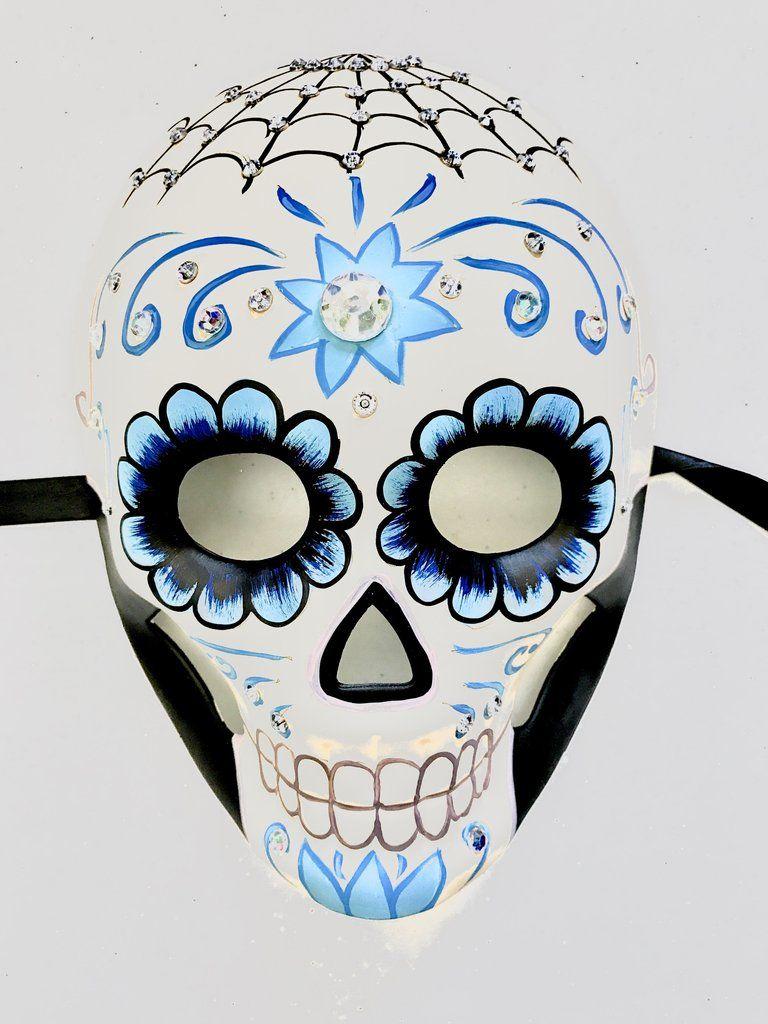 Sugar Skull Masquerade Mask | Masquerade masks, Skull ...