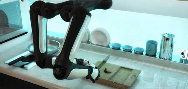 Lapislazzuli Blu: Ecco la #prima #cucina #hi-tech, la #comanda il #r ...