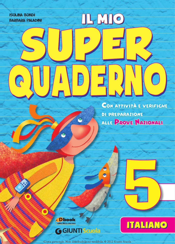 Il Mio Super Quaderno 5 Italiano Libri Didattici