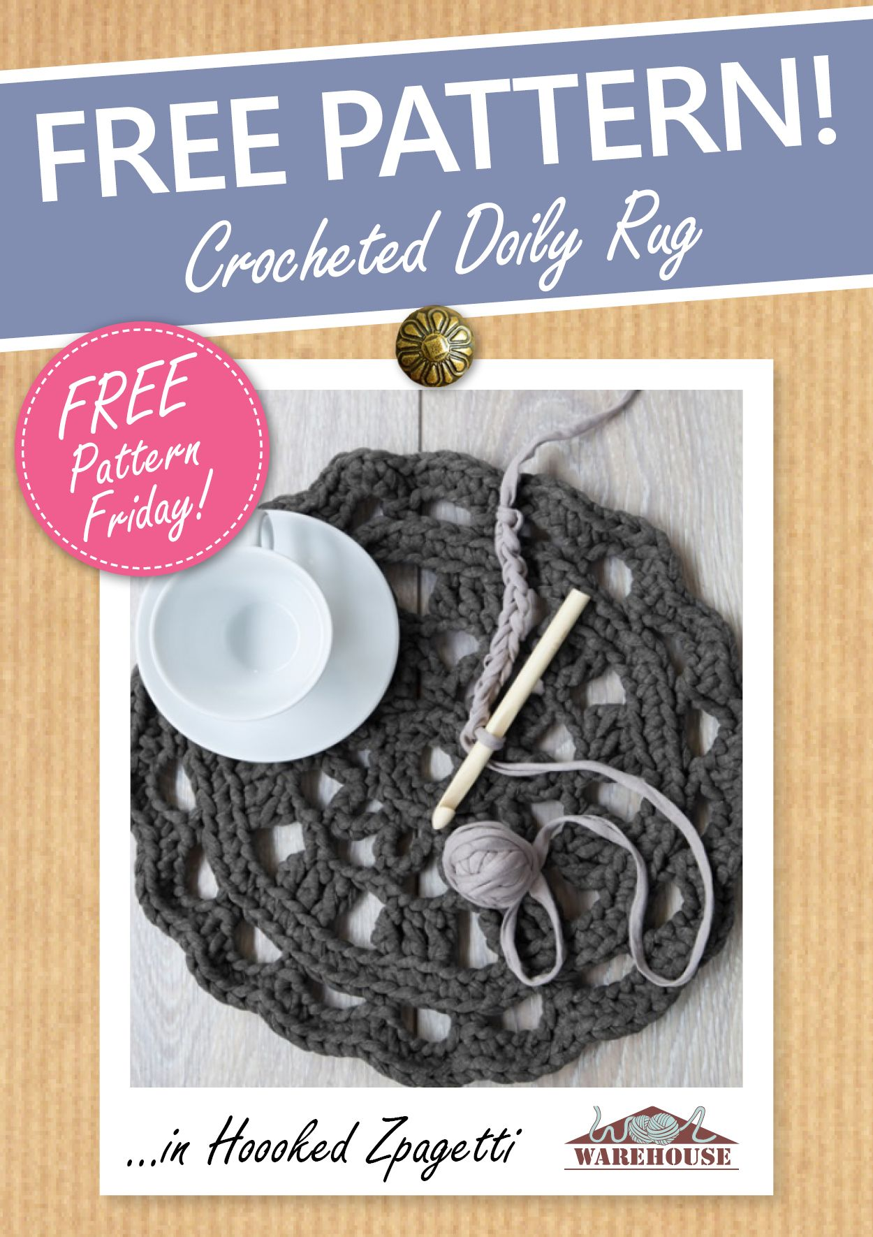 The fabulous hoooked zpagetti is great for crocheting rugs crochet zpagetti is great for crocheting rugs free doily rug pattern bankloansurffo Choice Image