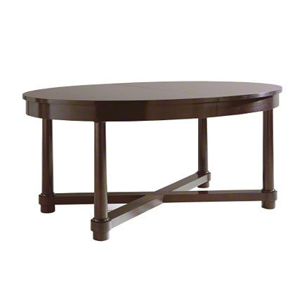 Baker Furniture Oval Dining Table 3439 Barbara Barry Width