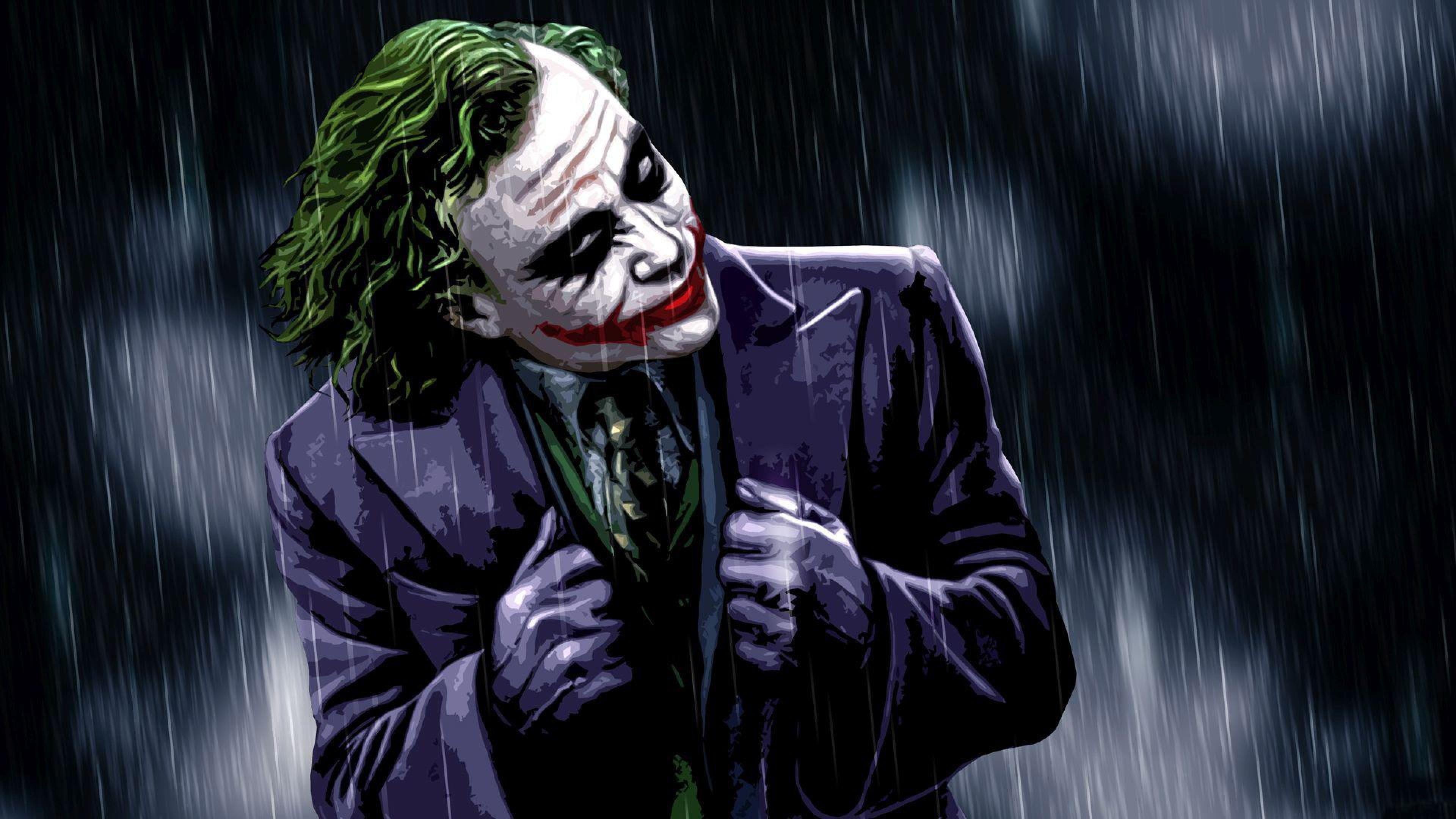 The Joker The Dark Knight Desktop Wallpaper Hd For Mobile Phones And Laptops 3840 2160 4k Wallpape Batman Joker Wallpaper Joker Wallpapers Joker Hd Wallpaper
