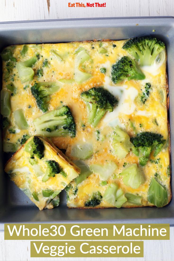 Whole30 Green Machine Veggie Casserole Recipe Eat This Not That Recipe Veggie Casserole Recipes Veggie Casserole Casserole Recipes