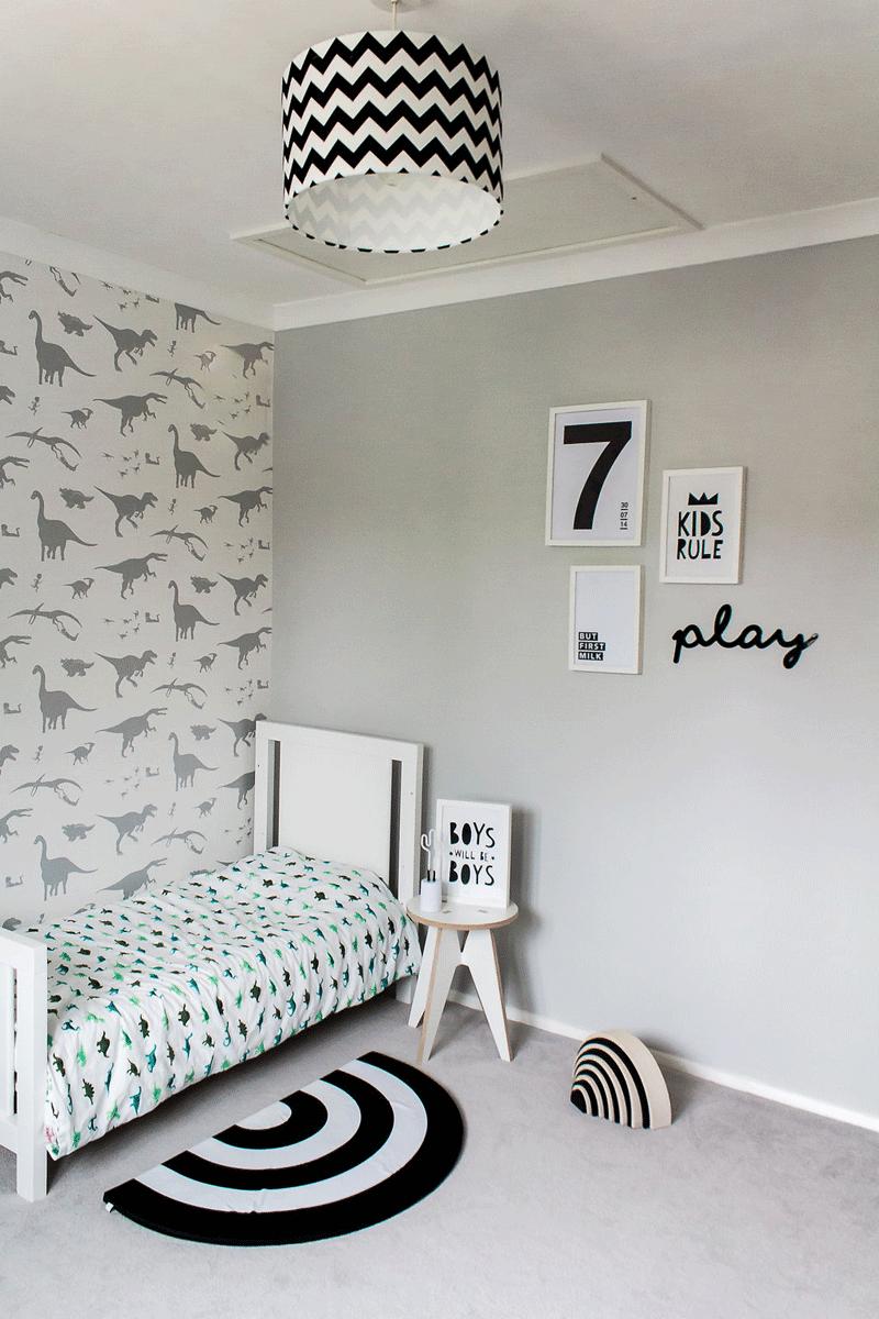 Thomasu0027 Contemporary Dinosaur Room Kids Interiors