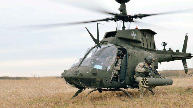 OH-58D Kiowa Warrior (OH-58F Fox) Armed Reconnaissance