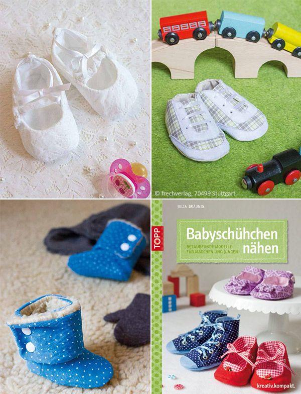 Babyschuhe nähen | Sew!~Baby/Kids Shoes | Pinterest | Babyschuhe ...