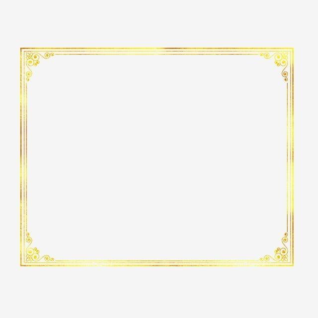الاتجاه ختم الساخنة إطار الصورة الحدود الذهبية حدود الذهب الاتجاه حار ختم Png صورة للتحميل مجانا In 2020 Photo Frame Design Clip Art Borders Clip Art