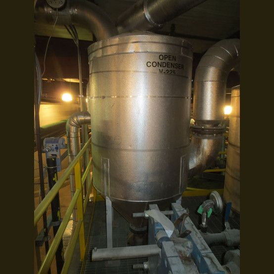 3 Ft Diameter 4 Ft 4 In High Tank Is Insulated Cone Bottom 304 Stainless Steel Capacity 230 Us Gallons Stainless Steel Tanks Steel Stainless Steel