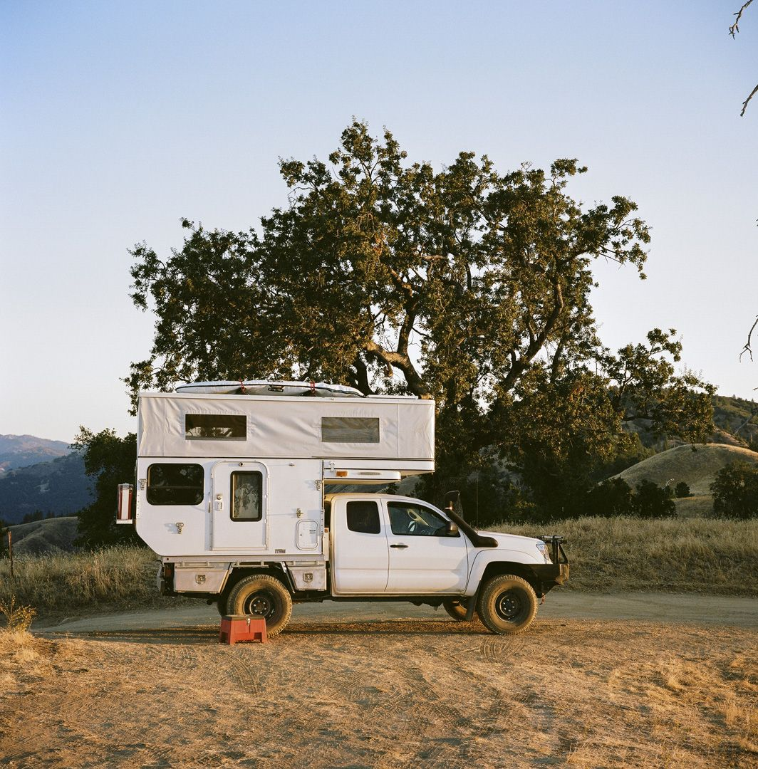 Fully Popped Toyota Tacoma With A Four Wheel Camper Ute