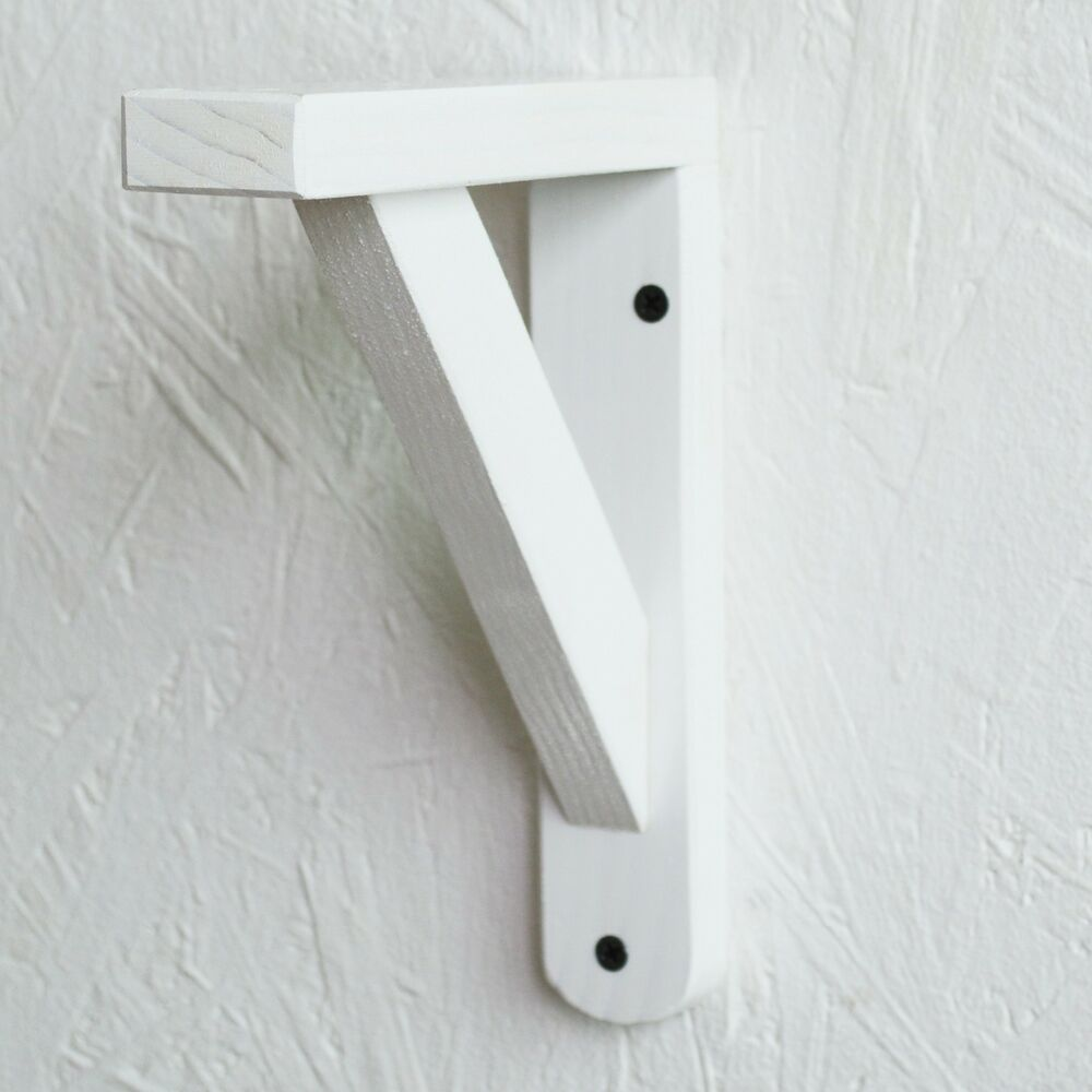 Microwave Shelf Brackets White