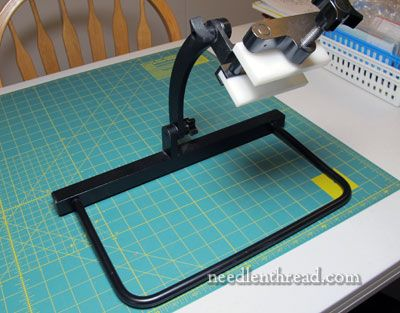 Needlework System 4 Table Lap Stand Review Needlework Stitch Book Embroidery Inspiration