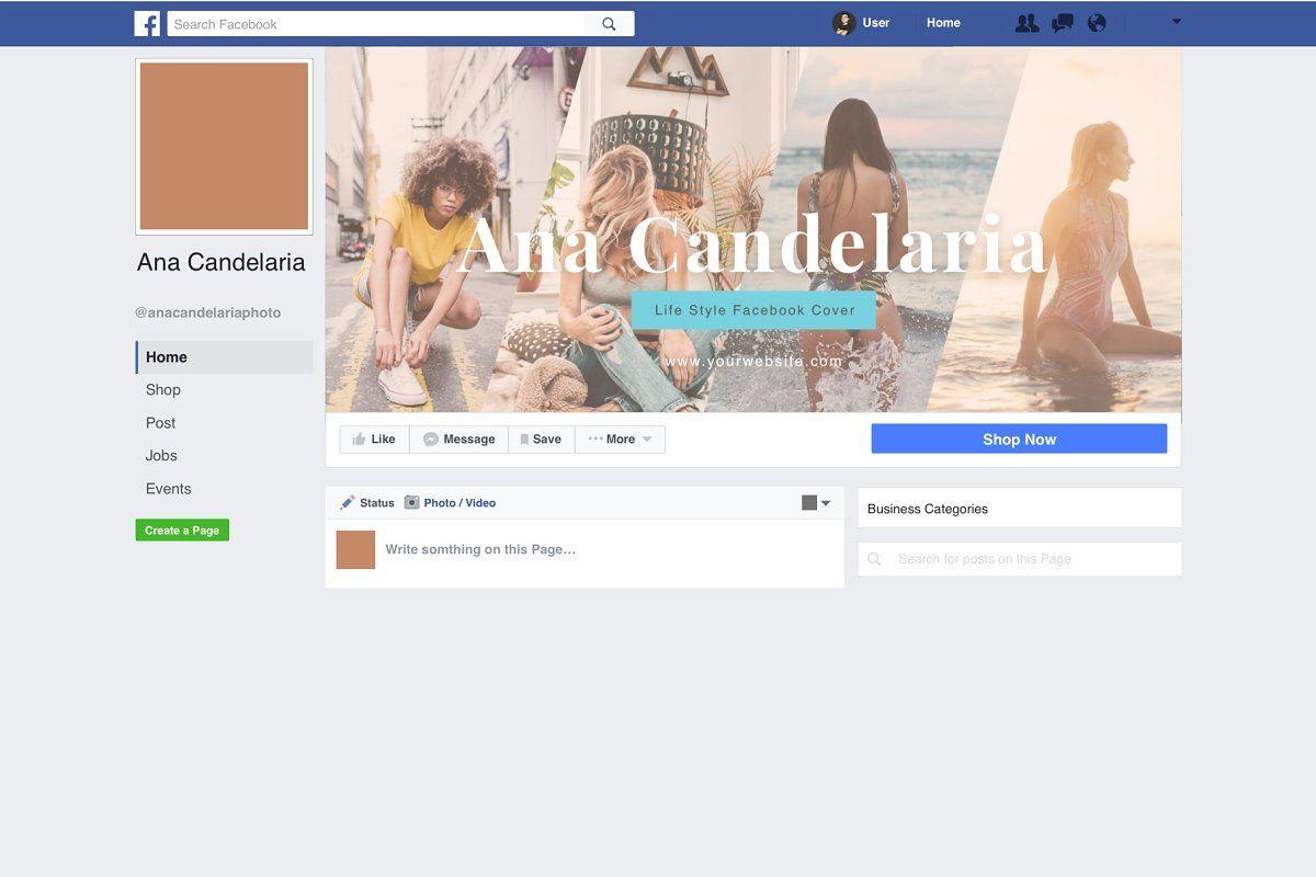 Photographer Facebook Cover Pack Facebook Cover Template Facebook Cover Cover Template
