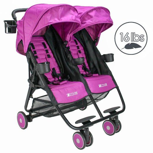 Zoe Xl2 Best Xtra Lightweight Double Stroller Lightweight Double