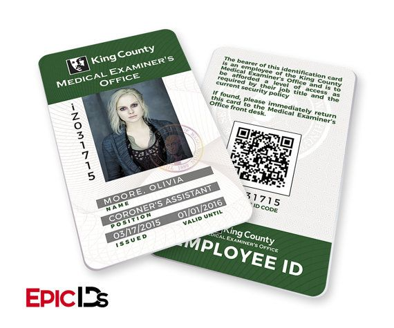 Izombie Tv Series Inspired King County Medical Examiners Etsy Izombie Tv Series Izombie Card Printer