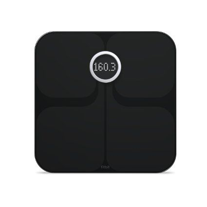 Fitbit Aria WiFi Smart Scale, Black Syncs