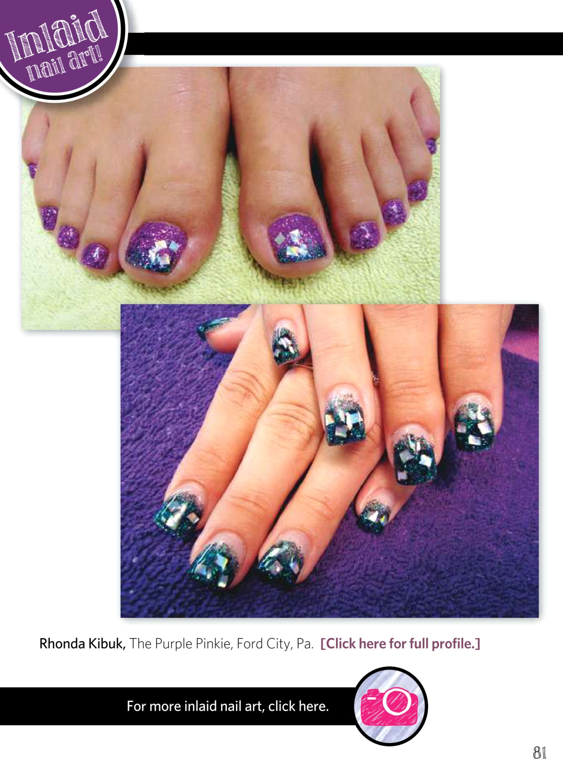 Nail Art Gallery Magazine - APR-MAY 2013 | Cool Nail Art | Pinterest ...
