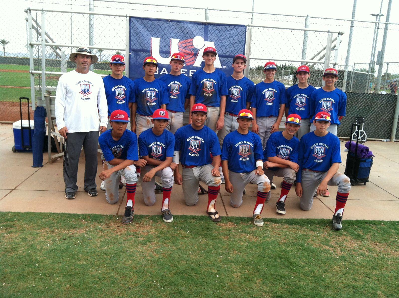 Quakes 14U Team 2013 USA Baseball National Team