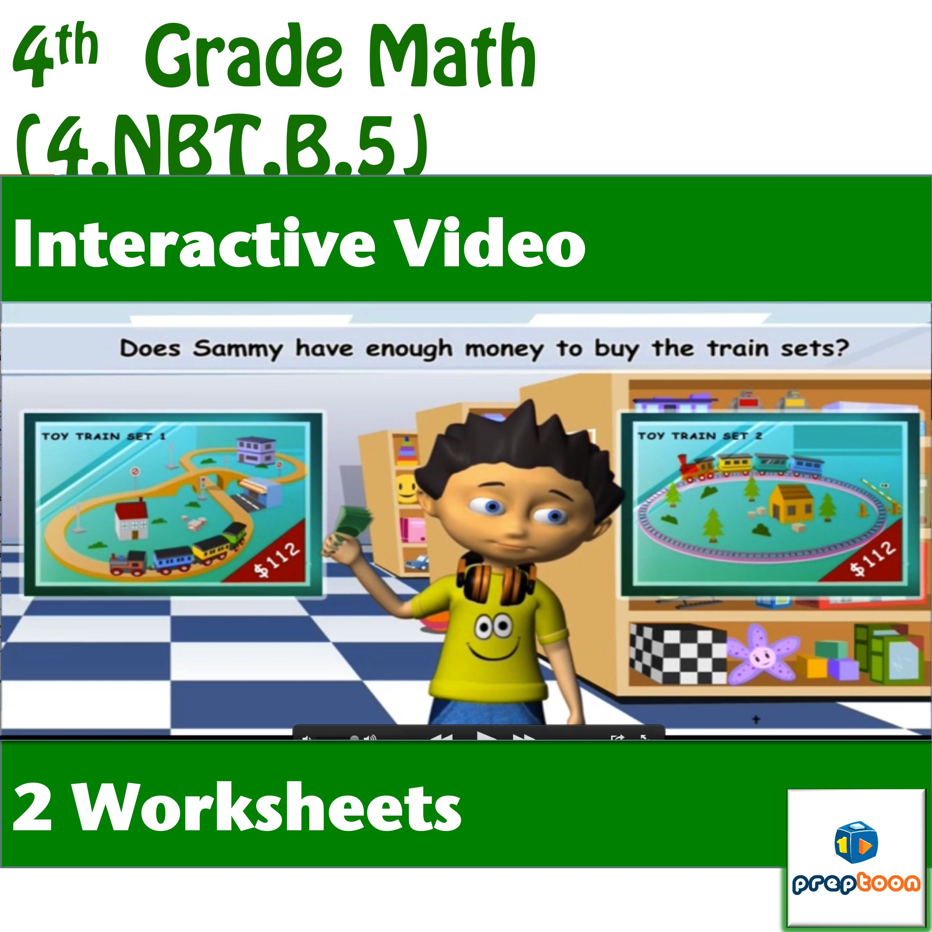 Common Core Math Activity Multiplication Of Two Whole
