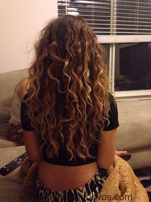 10rizado Pelo Largo 1 Pinterest Curly Hair Style And Hair