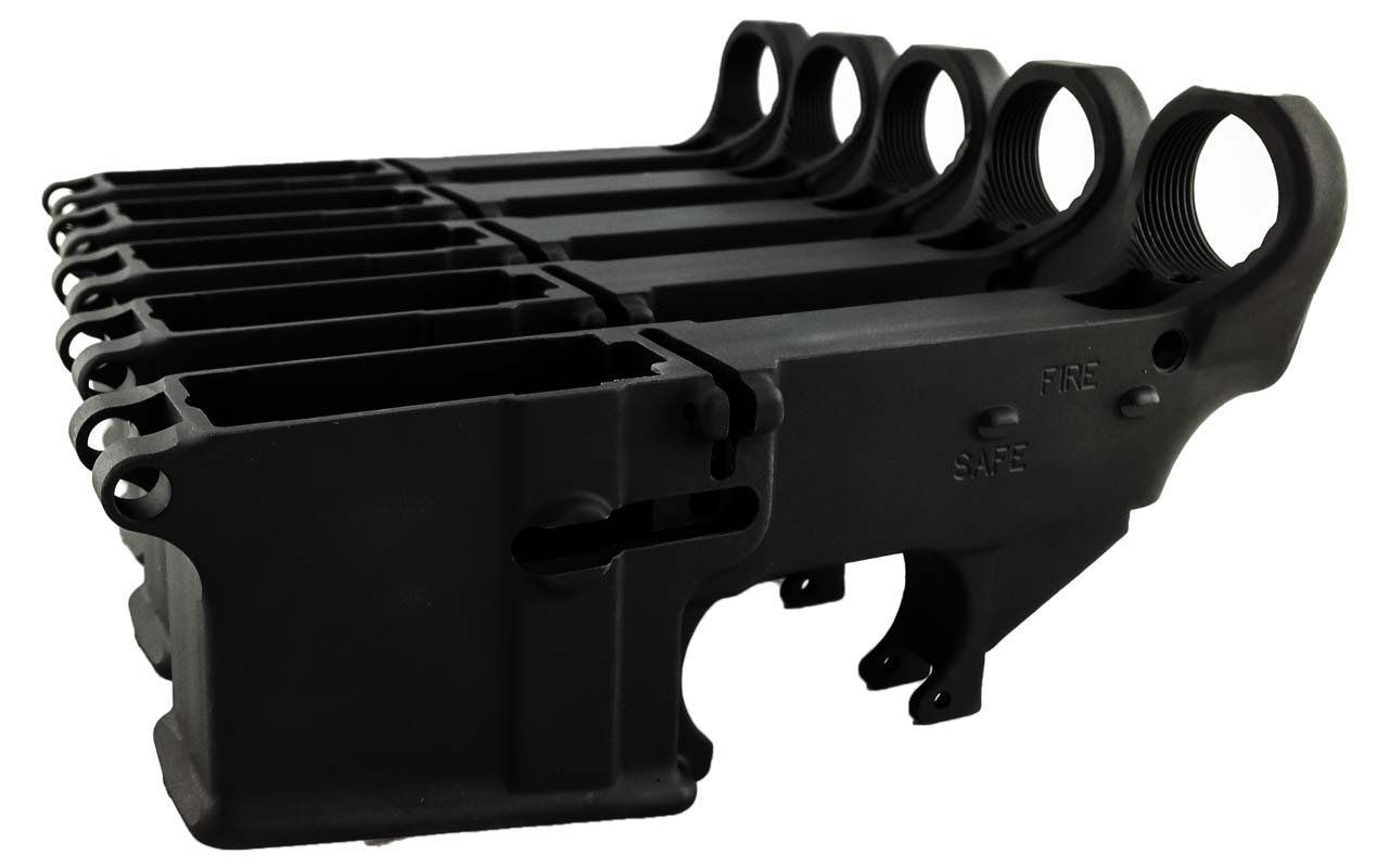 Black 80% Lowers Fire/Safe Engraved (5-Count) | 80 percent lower, Fire  safe, 80 lower jig