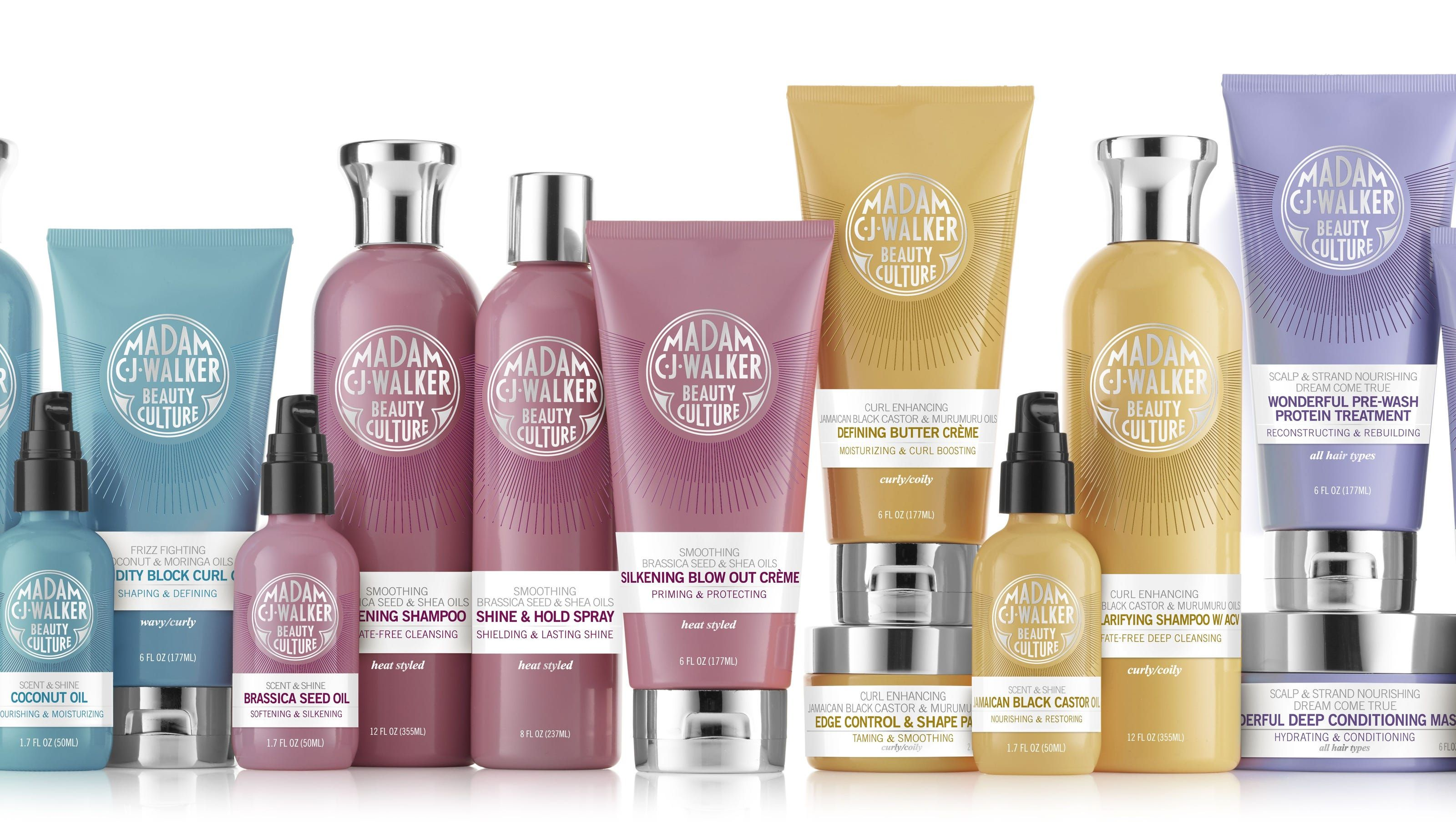 Madam C J Walker Hair Products Are Back Shea Moisture Products Madam Cj Walker Best Coconut Oil