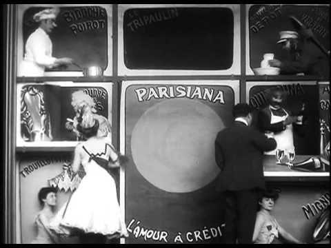 Les affiches en goguette – George Méliès (1906)