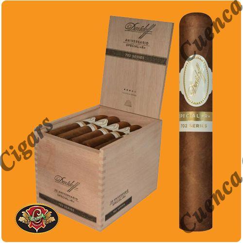 Davidoff 702 Aniversario Special R Cigars - Box of 25 - Price: $482.90