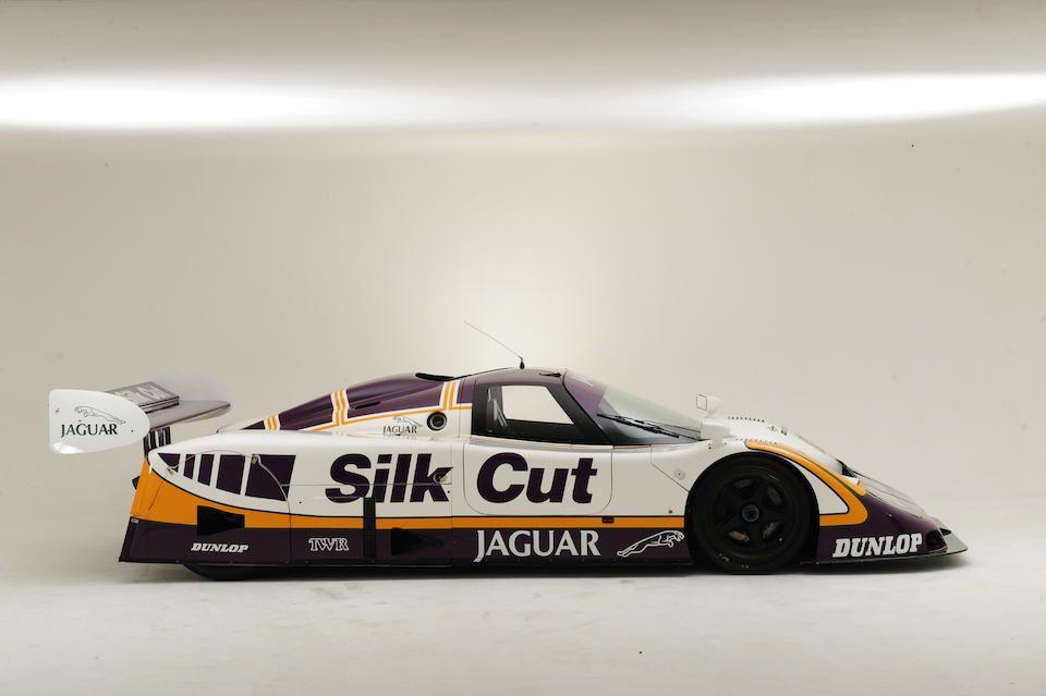 The ex-Walkinshaw Racing, Spa 1000km wining,1987 Silk Cut Jaguar XJR-8 Endurance Racing Group C Coupé Chassis no. XJR8/3.87