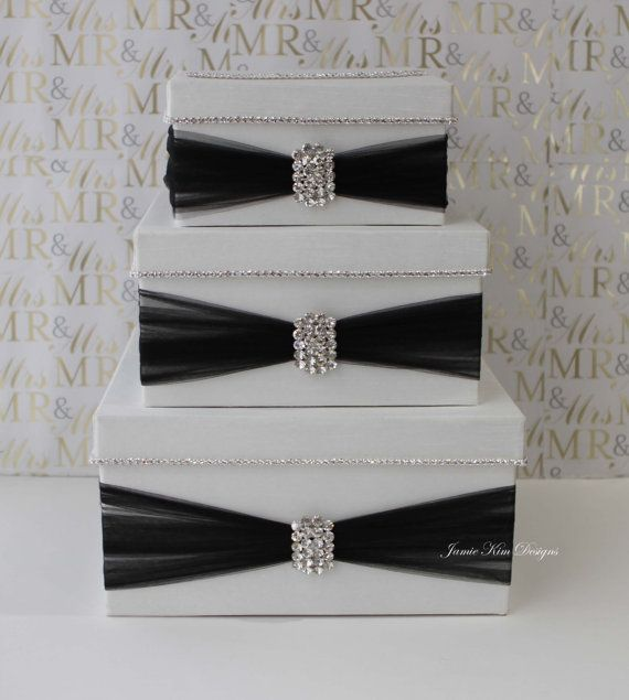 Wedding Card Box Money Gift By Jamiekimdesigns Decorative Bo Pinterest And