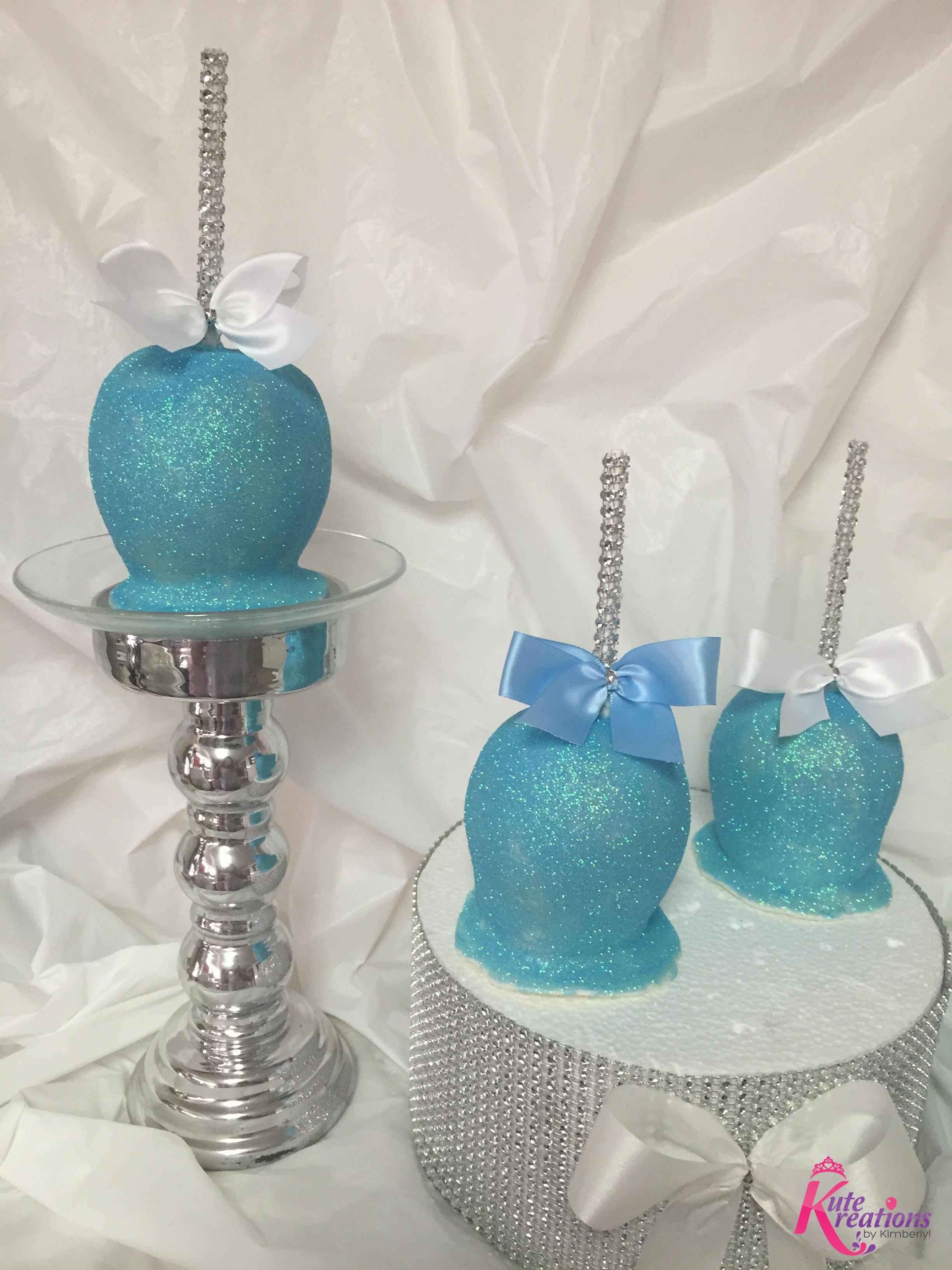 Frozen Candy Apples By Wwwkutekreationscom