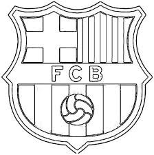 Resultado De Imagen Para Logo De Barcelona Para Colorear Coloring Pages Barcelona Colouring Pages