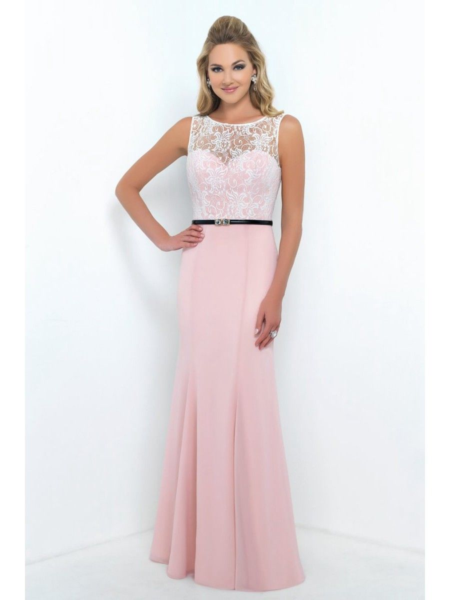 Long pink lace and chiffon bridesmaid dresses 1806029 2017 house of brides has the largest online selection of wedding bridesmaid mothers special occasion dresses at the lowest prices guaranteed ombrellifo Images
