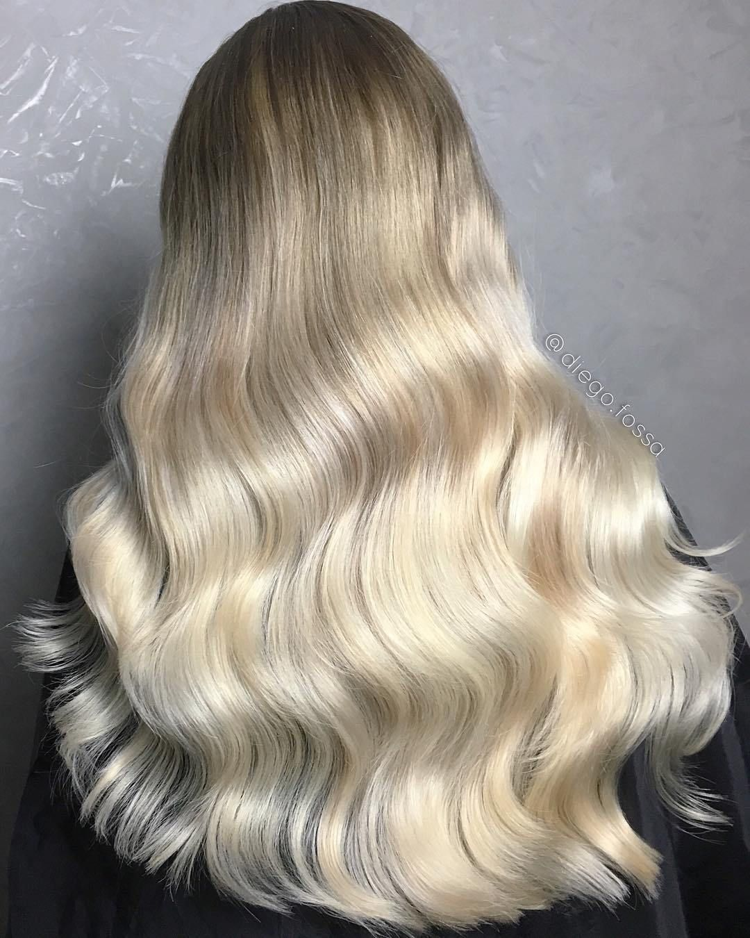 Long+White+Blonde+Ombre+Hair