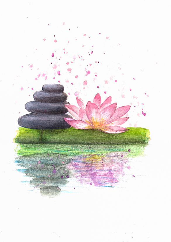 Lotus flower home decor feng shui decor namaste painting mothers relaxing zen stones and lotus flower lotus flower walldecor namaste walldecor lotusart painting lotus walldecor lotusprintgift artpainting mightylinksfo