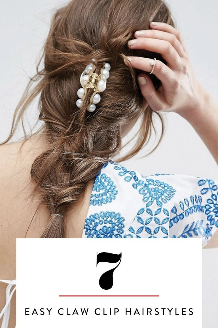 11 easy claw clip hairstyles to upgrade your casual looks