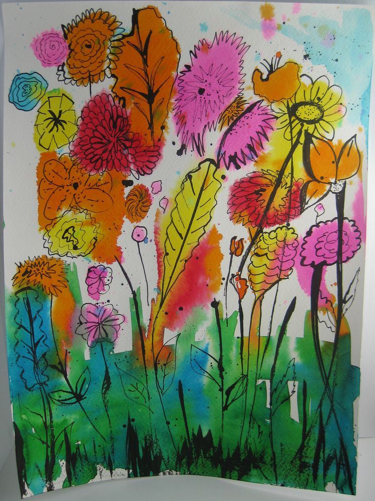 3rd Grade Georgia O Keeffe Flower Classroom Art Projects
