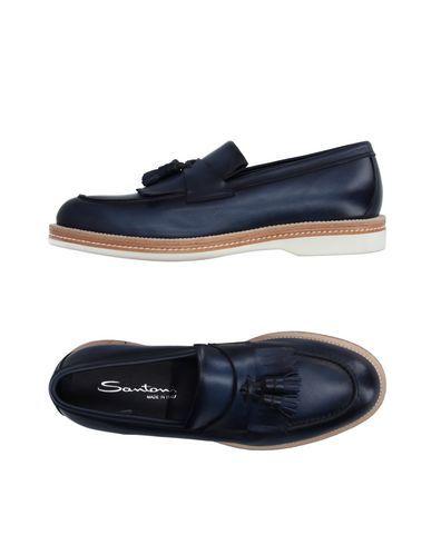 Prezzi e Sconti: #Santoni mocassino uomo Blu scuro  ad Euro 244.00 in #Santoni #Uomo calzature mocassini