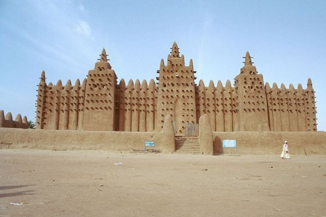 Timbuktu Palace Mali Most Beautiful Places Timbuktu Mali