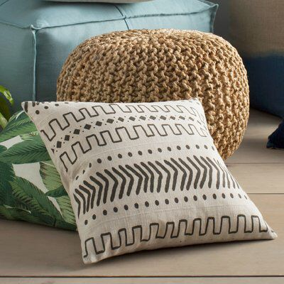 Hector Feather Down Throw Pillow Pillows Blankets