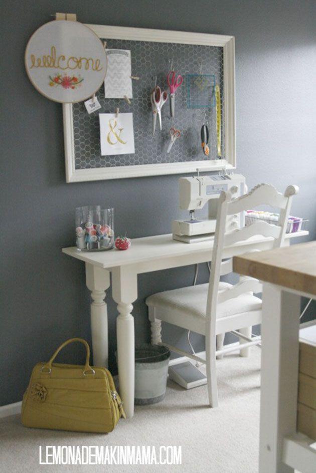 Despacho peque o y moderno integrado en casa decoracion for Despacho moderno casa