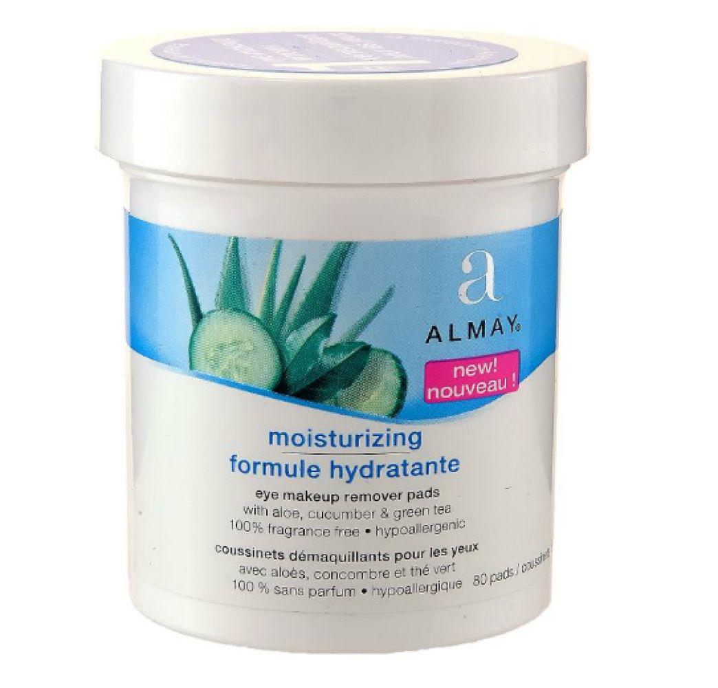 Almay moisturizing eye makeup remover pads makeup