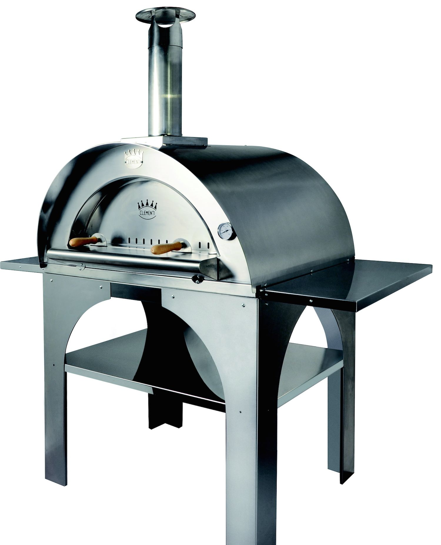 Clementi pulcinella four pizza pinterest pizza et for Construire un four a bois exterieur