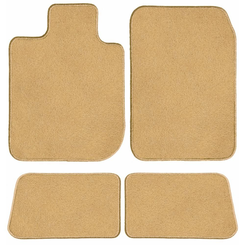 GGBAILEY Classic Carpet Car Mats/Floor Mats (Crew Cab) for Chevrolet Silverado 1500 Custom Fit for 2015-2018 in Beige (4-Piece)-D60656-S1A-BGE-LP - The Home Depot