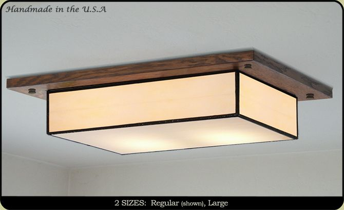 Mission Style Ceiling Light 704 With Images Ceiling Lights