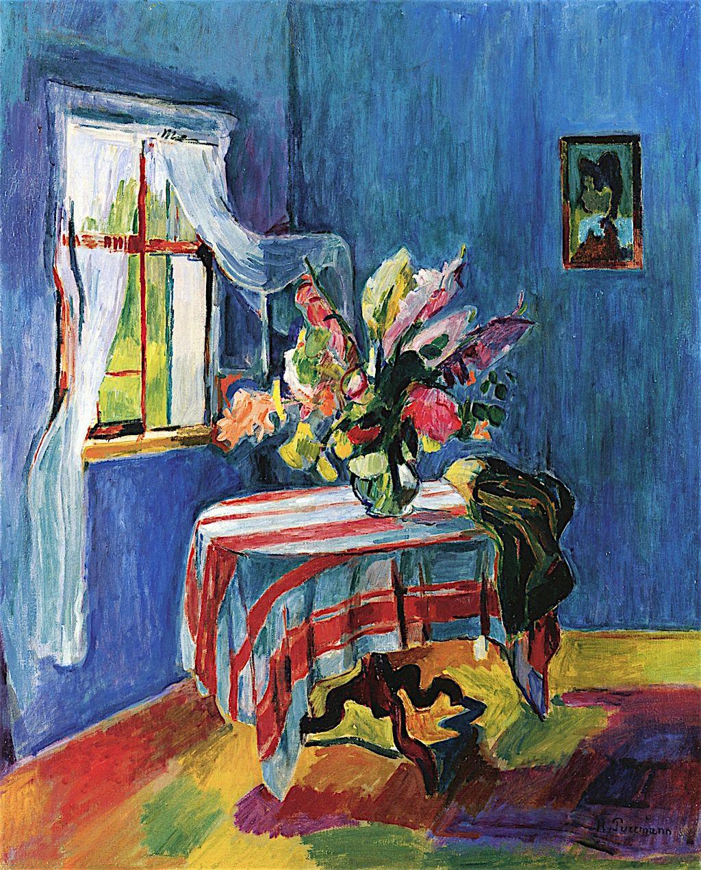 Hans Purrmann German 1880 - 1966 Art Canvas