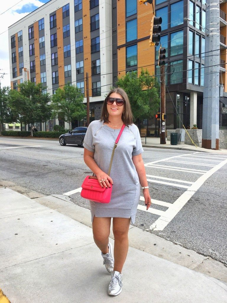 20 Ways To Wear Sneakers With Dresses Julia Marie B Casual Plus Size Outfits Curvy Girl Outfits Curvy Outfits [ 1024 x 768 Pixel ]