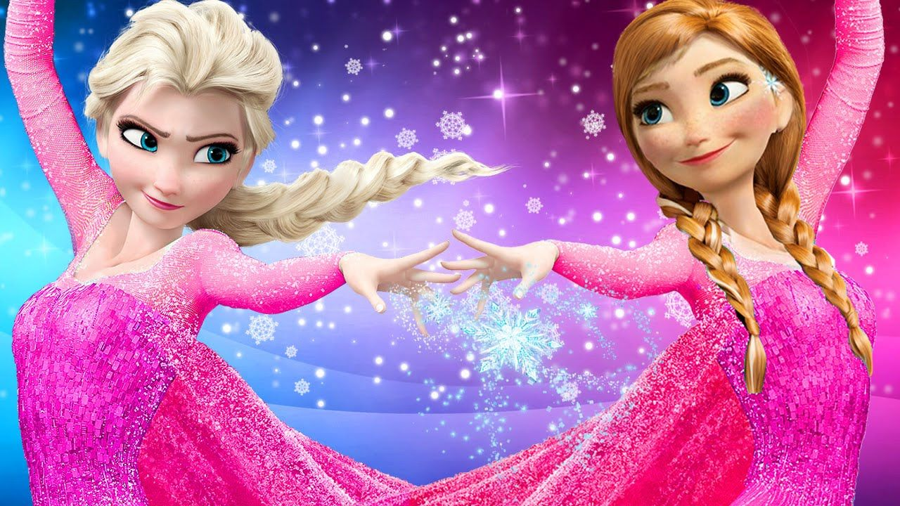 frozen elsa anna finger family songs pink spidergirl. Black Bedroom Furniture Sets. Home Design Ideas
