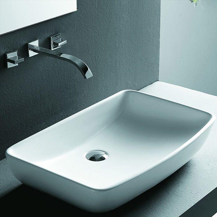 Lux Aqua Waschbecken Aufsatzwaschbecken Mit Nano Beschichtung Neu