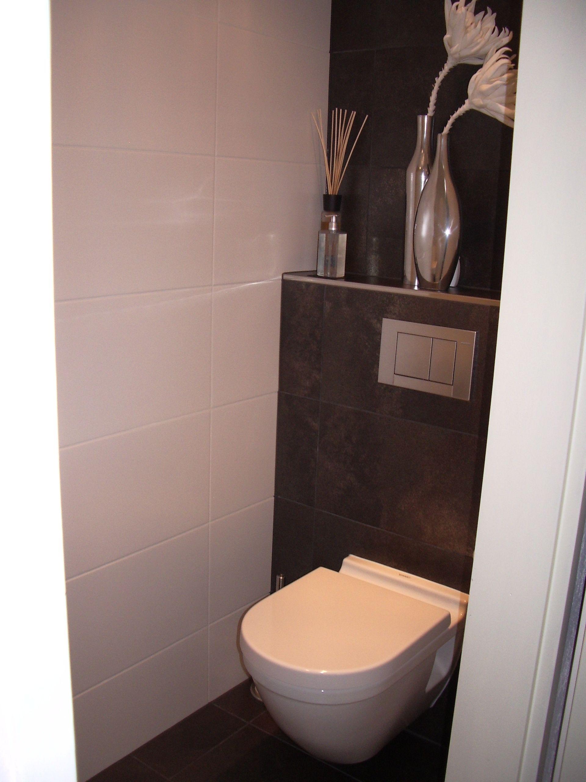 twee verschillende tegels in de toiletruimte wc pinterest g ste wc gast und sch ner wohnen. Black Bedroom Furniture Sets. Home Design Ideas